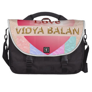 VIDYA BALAN Gifts :  Golden Script Computer Bag