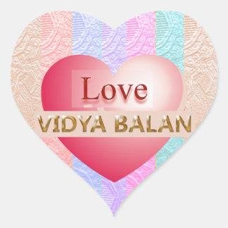 VIDYA BALAN Gifts :  Golden Script Stickers