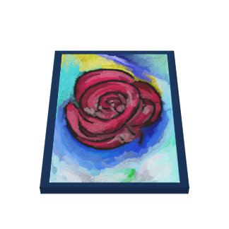 """vie Rose"" Premium Wrapped Canvas (Gloss)"