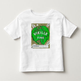 Vieille Fine Wine LabelEurope Toddler T-shirt