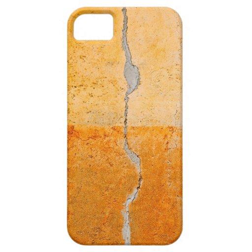 vieja abstracción de la pared iPhone 5 Case-Mate carcasas