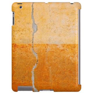 vieja abstracción de la pared funda para iPad