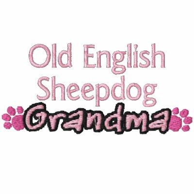 Vieja abuela inglesa del perro pastor