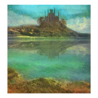 vieja ampliación de la foto del castillo fotografías