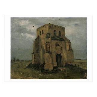 Vieja bella arte de Nuenen Van Gogh de la torre de Tarjeta Postal