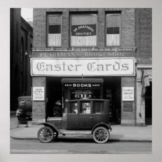 Vieja C.C. Librería, los años 20 Póster