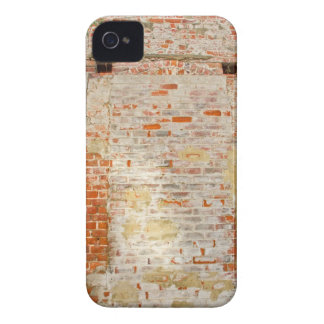 Vieja caja de la casamata de la pared de ladrillo iPhone 4 Case-Mate protectores