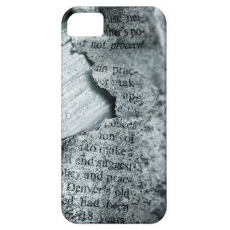 Vieja caja de papel rasgada del iPhone de DIY iPhone 5 Fundas