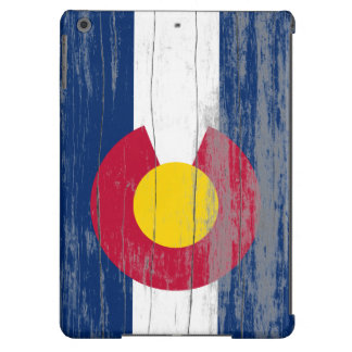 Vieja caja del aire del iPad de la pintura de Colo Funda Para iPad Air