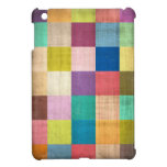 Vieja caja envejecida Colorblock del iPad del edre iPad Mini Fundas