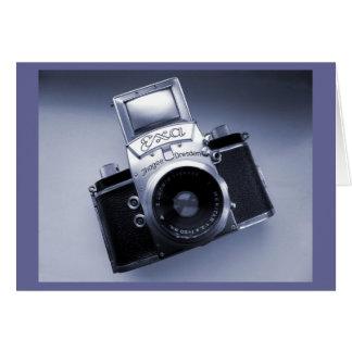 Vieja Camera (Mk 1957 IV Ihagee Exa 0) Tarjeta De Felicitación