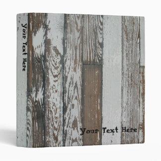 Vieja carpeta de madera