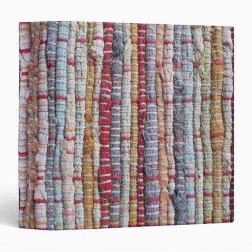 Vieja carpeta del modelo de la manta