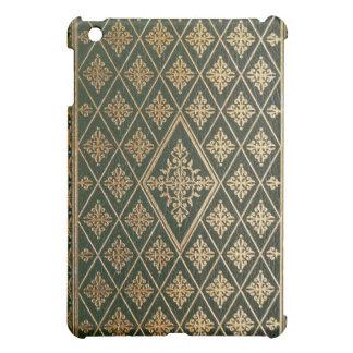 Vieja cubierta de libro de cuero