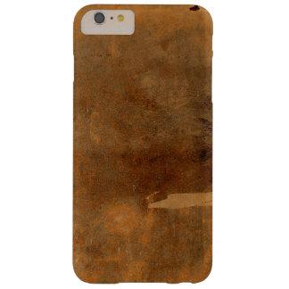 Vieja cubierta de libro de cuero llevada funda de iPhone 6 plus barely there