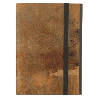 Vieja cubierta de libro de cuero llevada