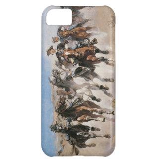 Vieja cubierta del oeste salvaje del iPhone 5 del  Funda Para iPhone 5C