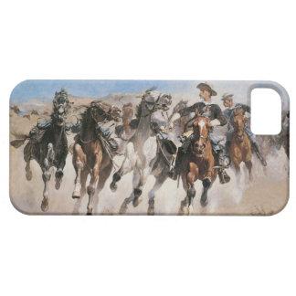 Vieja cubierta del oeste salvaje del iPhone 5 del iPhone 5 Carcasas
