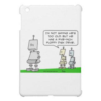 vieja disquetera del robot