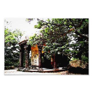 Vieja estructura en Sintra Portugal Fotografía