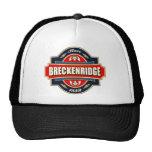 Vieja etiqueta de Breckenridge Gorras