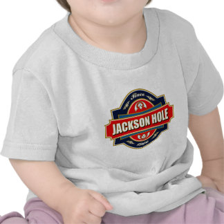 Vieja etiqueta de Jackson Hole Camisetas