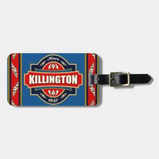 Vieja etiqueta de Killington Etiquetas Bolsas