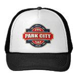 Vieja etiqueta de Park City Gorro De Camionero
