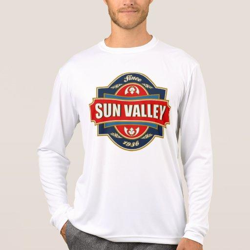 Vieja etiqueta de Sun Valley Camisetas