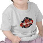 Vieja etiqueta del telururo camiseta