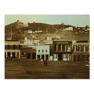 Vieja fiebre del oro de la foto de San Francisco Postal