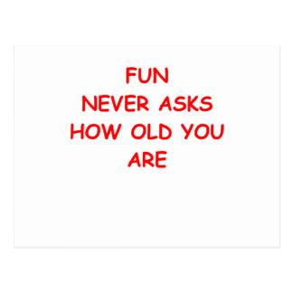 vieja gente tarjetas postales