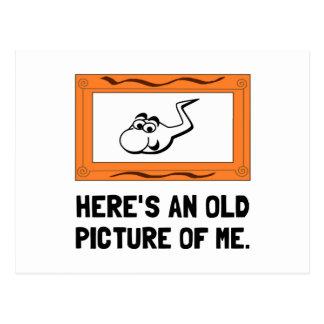 Vieja imagen de mí tarjetas postales
