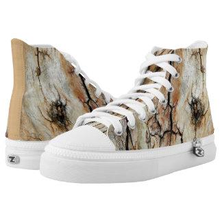 Vieja imagen natural de madera agrietada 2 de la zapatillas