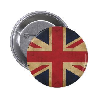 Vieja insignia del botón de Union Jack Pin