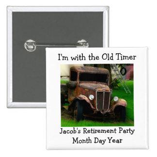 Vieja insignia del Pin de la ocasión del camión de
