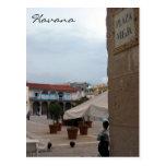 vieja La Habana de la plaza Tarjetas Postales