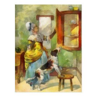 Vieja madre Hubbard Tarjetas Postales