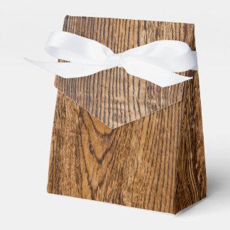 Vieja mirada de madera del grano cajas para regalos de boda