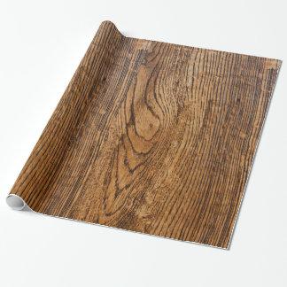 Vieja mirada de madera del grano