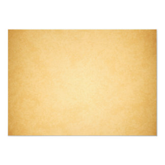 """Vieja mirada de papel del vintage de papel de invitación 5"""" x 7"""""""