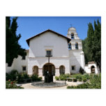 Vieja misión San Juan Bautista Tarjeta Postal
