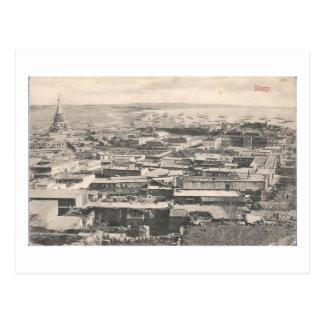 Vieja opinión de Baku (1911) - con la catedral rus Postal