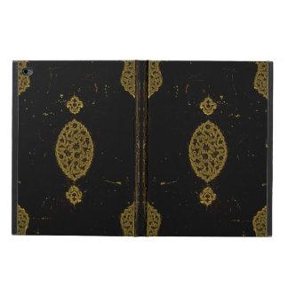 Vieja original de la cubierta de libro del cuero y