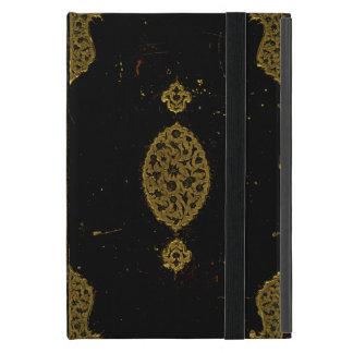 Vieja original de la cubierta de libro del cuero y iPad mini cobertura