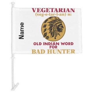 Vieja palabra india vegetariana para el mún