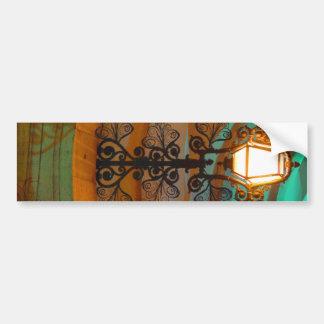 Vieja pegatina para el parachoques de la lámpara d pegatina para auto