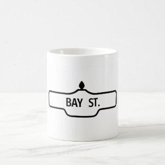 Vieja placa de calle de Toronto - calle de la Taza