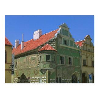 Vieja plaza rodeada por el siglo XVI 2 Tarjetas Postales