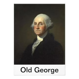 Vieja prueba 2 de la etiqueta de George Invitacion Personalizada